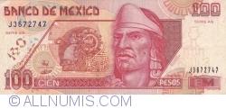 Image #1 of 100 Pesos 1996 (10. V.) - Serie AS