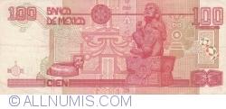 Image #2 of 100 Pesos 1996 (10. V.) - Serie AS