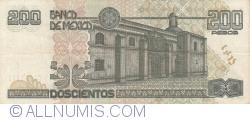 Image #2 of 200 Pesos 1998 (17. III.)