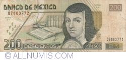 Image #1 of 200 Pesos 2000 (18. X.) - Serie BV