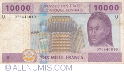 Image #1 of 10,000 Francs 2002 - signatures J. F. Mamalepot /Censeur ...