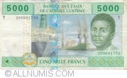 Image #1 of 5000 Francs 2002 - signatures J. F. Mamalepot / Louis Aleka-Rybert