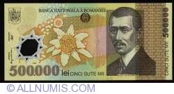 Image #1 of 500,000 Lei 2000/(20)00 - Governor signature Mugur Isărescu