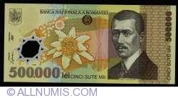 500000 Lei 2000/(20)00 - Governor signature Emil Iota Ghizari