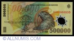 Image #2 of 500000 Lei 2000/(20)00 - Governor signature Emil Iota Ghizari