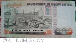 100 000 Intis 1989 (21. XII.)