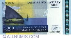 Imaginea #1 a 5000 Ariary ND (2003)