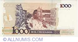 1 Cruzado Novo on 1 000 Cruzeiros ND (1989)