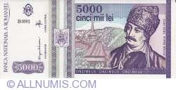 5000 Lei 1993 (V)