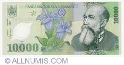 Image #1 of 10000 Lei 2000 - Governor signature Emil Iota Ghizari