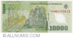 Image #2 of 10000 Lei 2000 - Governor signature Emil Iota Ghizari