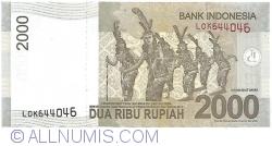 2000 Rupiah 2009/2015