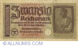 Image #1 of 20 Reichsmark ND(1940-1945)
