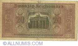 Image #2 of 20 Reichsmark ND(1940-1945)