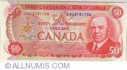 Imaginea #1 a 50 Dolari 1975 - semnaturi Crow-Bouey