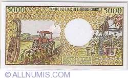5000 Franci ND (1984-1991) - 1