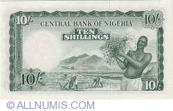 Imaginea #2 a 10 Shillings 1958