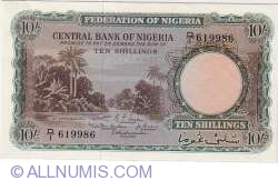 Imaginea #1 a 10 Shillings 1958