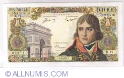 Image #1 of 10000 Francs 1956 (7. VI.)