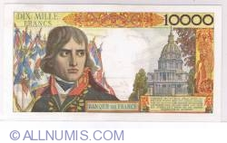 Image #2 of 10000 Francs 1956 (7. VI.)
