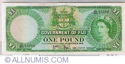 Image #1 of 1 Pound 1965 (1 December)