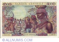 Image #1 of 1000 Francs 1957