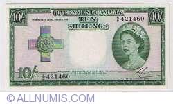 Imaginea #1 a 10 Shillings 1953