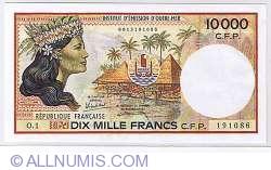 Image #2 of 10000 Francs 1985 2 signatures