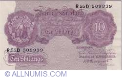 Image #1 of 10 Shillings ND (1940-1948)