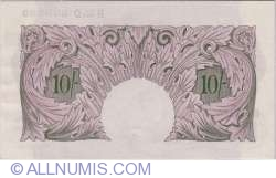Image #2 of 10 Shillings ND (1940-1948)