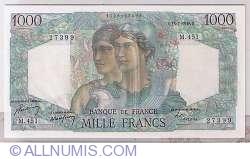 Image #1 of 1000 Francs 1948 (15. VII.)
