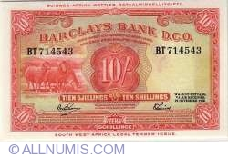 Image #1 of 10 Shillings 1958