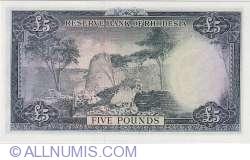Imaginea #2 a 5 Pounds 1964 (10. XI.)