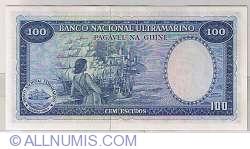 Imaginea #2 a 100 Escudos 1971 (17. XII.) - semnătură ADMINISTRADOR: Samuel Rodrigues Sanches