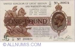 1 Pound 1919