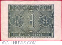 Image #2 of 1 Zloty 1941 (1. VIII.)