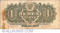 Image #2 of 1 Zloty 1944