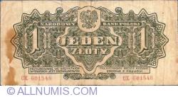 Imaginea #2 a 1 Zloty 1944