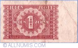 Image #2 of 1 Zloty 1946