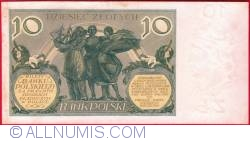 Image #2 of 10 Zlotych 1929 (20. VII.)