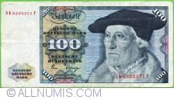 Image #1 of 100 Deutsche Mark 1980 (2. I.)
