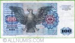 Image #2 of 100 Deutsche Mark 1980 (2. I.)