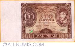 Imaginea #1 a 100 Złotych 1934 (9. XII) - 2