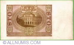 Image #2 of 100 Zlotych 1940 (1. III.)