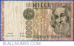 Image #1 of 1000 Lire 1982 (6. I.) - signatures Ciampi / Stevani