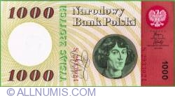 Image #1 of 1000 Zlotych 1965