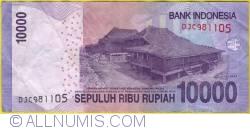 Imaginea #2 a 10000 Rupiah 2012