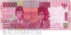 100000 Rupiah 2011
