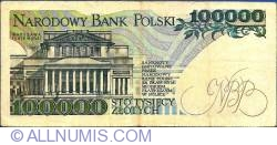 Image #2 of 100000 Zlotych 1990