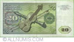 Image #2 of 20 Deutsche Mark 1980 (2. I.)